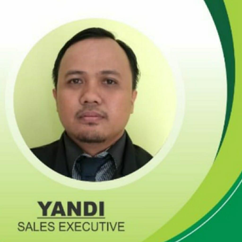 Yandi Sales Executive - Bintaro Paradiso - Rumah Cluster Bintaro Sektor 3A Tangerang